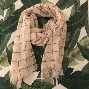 Window pane scarf | Rachel Pally